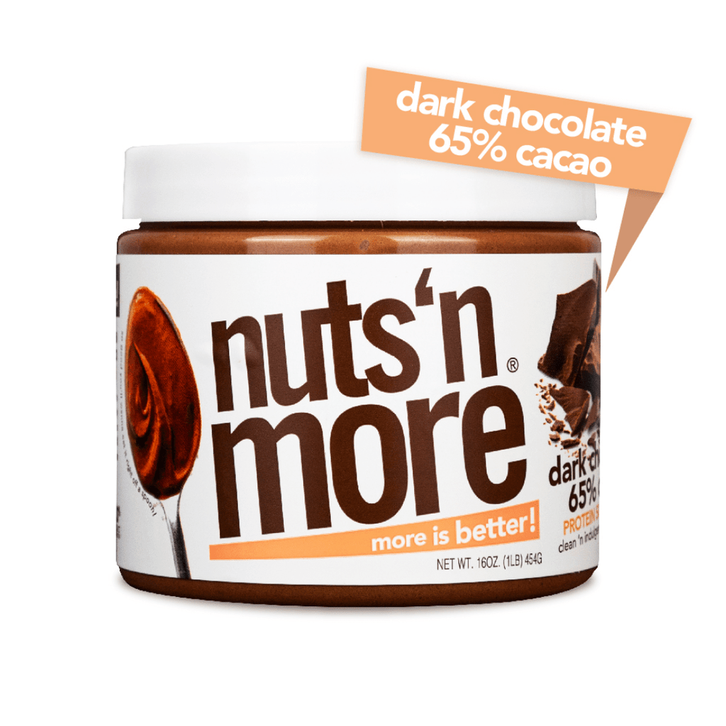 Nuts 'N More Peanut Butter Protein Spread Dark Chocolate - Protein Package