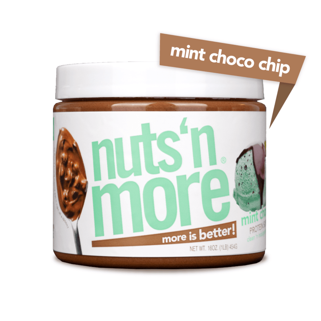 Nuts 'N More Peanut Butter Protein Spread Mint Chocolate Chip, Protein Spread, Nuts N' More, Protein Package Protein Package Pick and Mix Protein UK