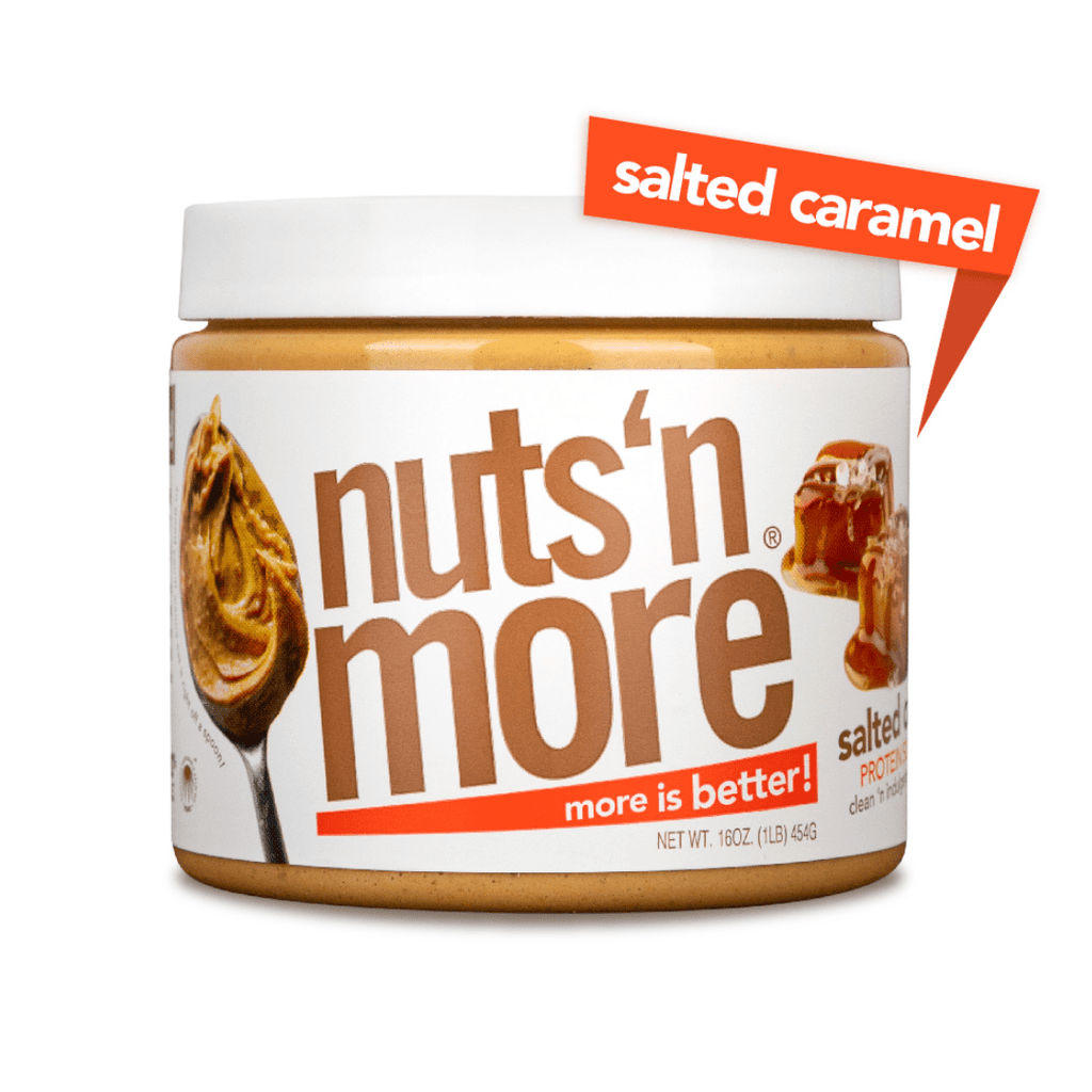 Nuts 'N More Peanut Butter Protein Spread Salted Caramel, Protein Spread, Nuts N' More, Protein Package Protein Package Pick and Mix Protein UK