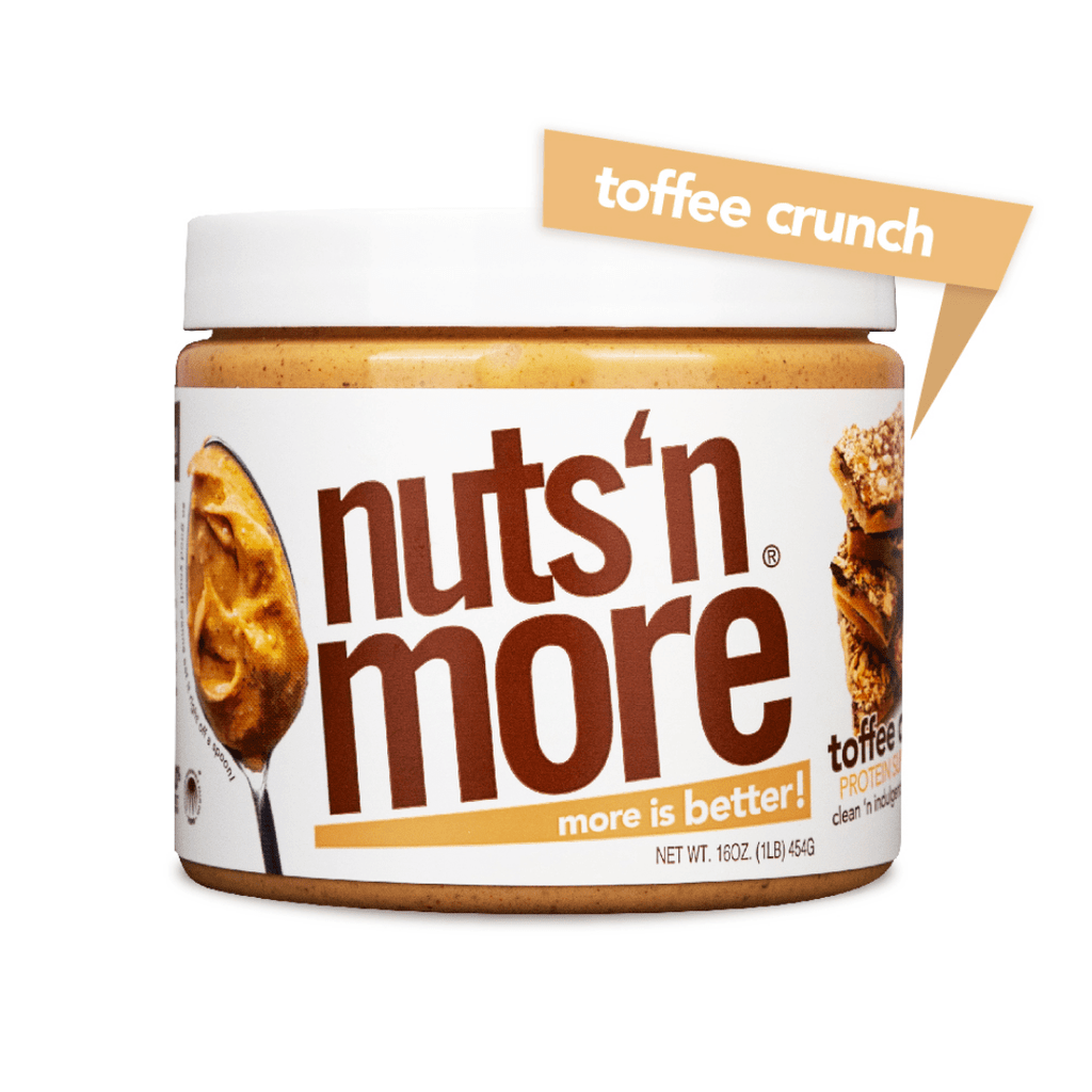 Nuts 'N More Peanut Butter Protein Spread Toffee Crunch, Protein Spread, Nuts N' More, Protein Package Protein Package Pick and Mix Protein UK