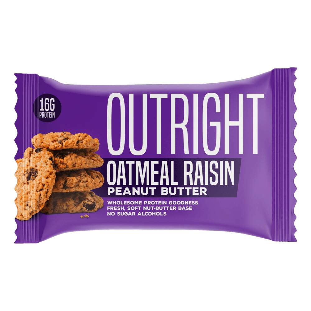 MTS OUTRIGHT SINGLE BAR 60G OATMEAL RAISIN