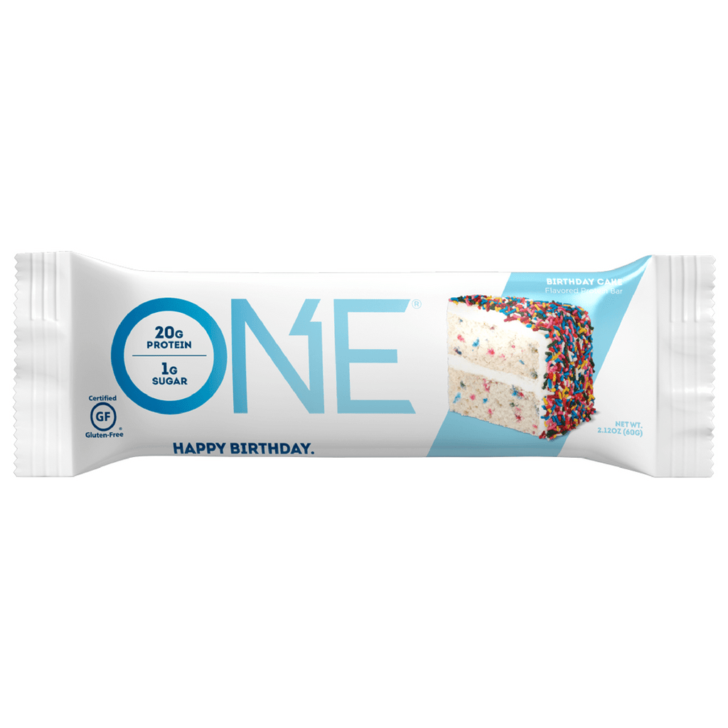 ONE Brands Protein Bar Birthday Cake - Protein Package