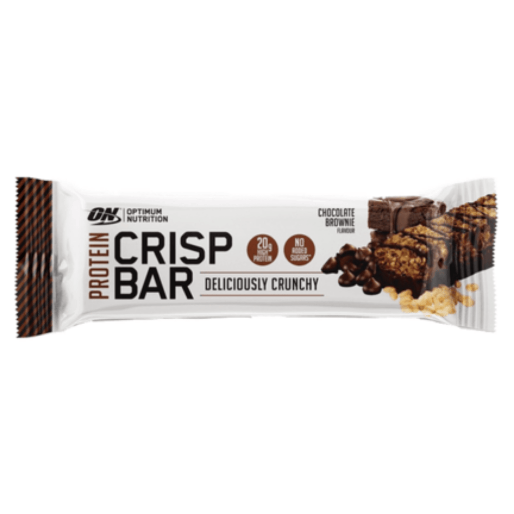 Optimum Nutrition Protein Crisp Bar Chocolate Brownie, Protein Bars, Optimum Nutrition, Protein Package, Pick and Mix Protein UK