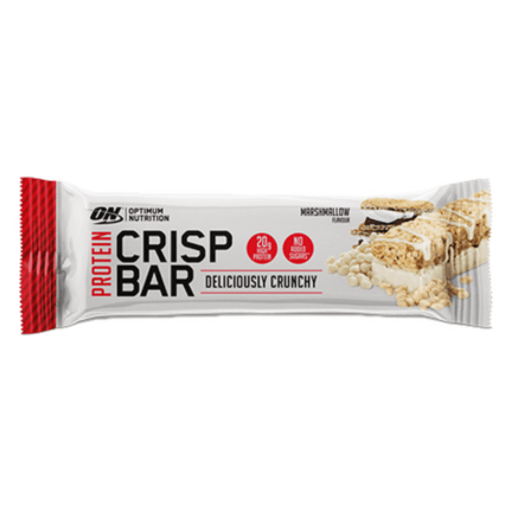 Optimum Nutrition Protein Crisp Bar Marshmallow, Protein Bars, Optimum Nutrition, Protein Package, Pick and Mix Protein UK
