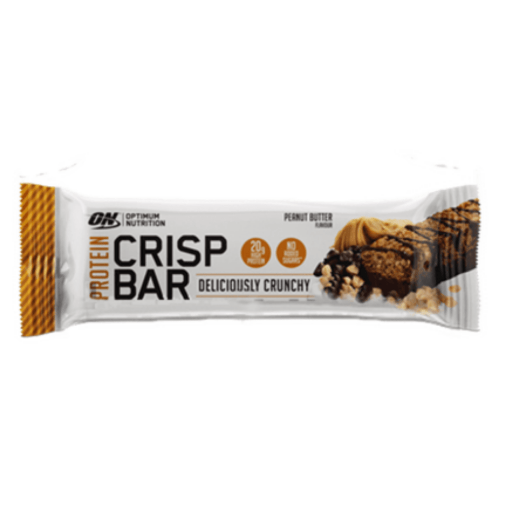 Optimum Nutrition Protein Crisp Bar Peanut Butter, Protein Bars, Optimum Nutrition, Protein Package, Pick and Mix Protein UK