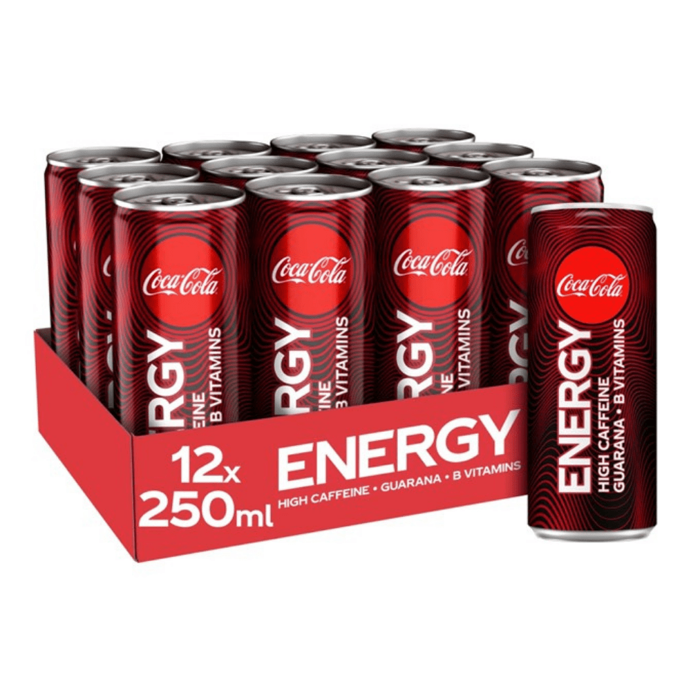 Coca-Cola Energy Drink Box (12 Cans)