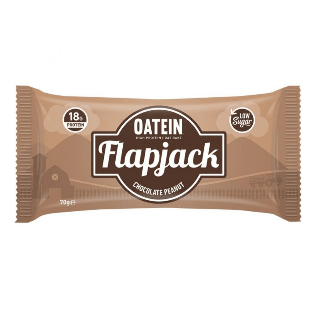 Oatein Protein Flapjack Chocolate Peanut, Protein Flapjacks, Oatein, Protein Package Protein Package Pick and Mix Protein UK