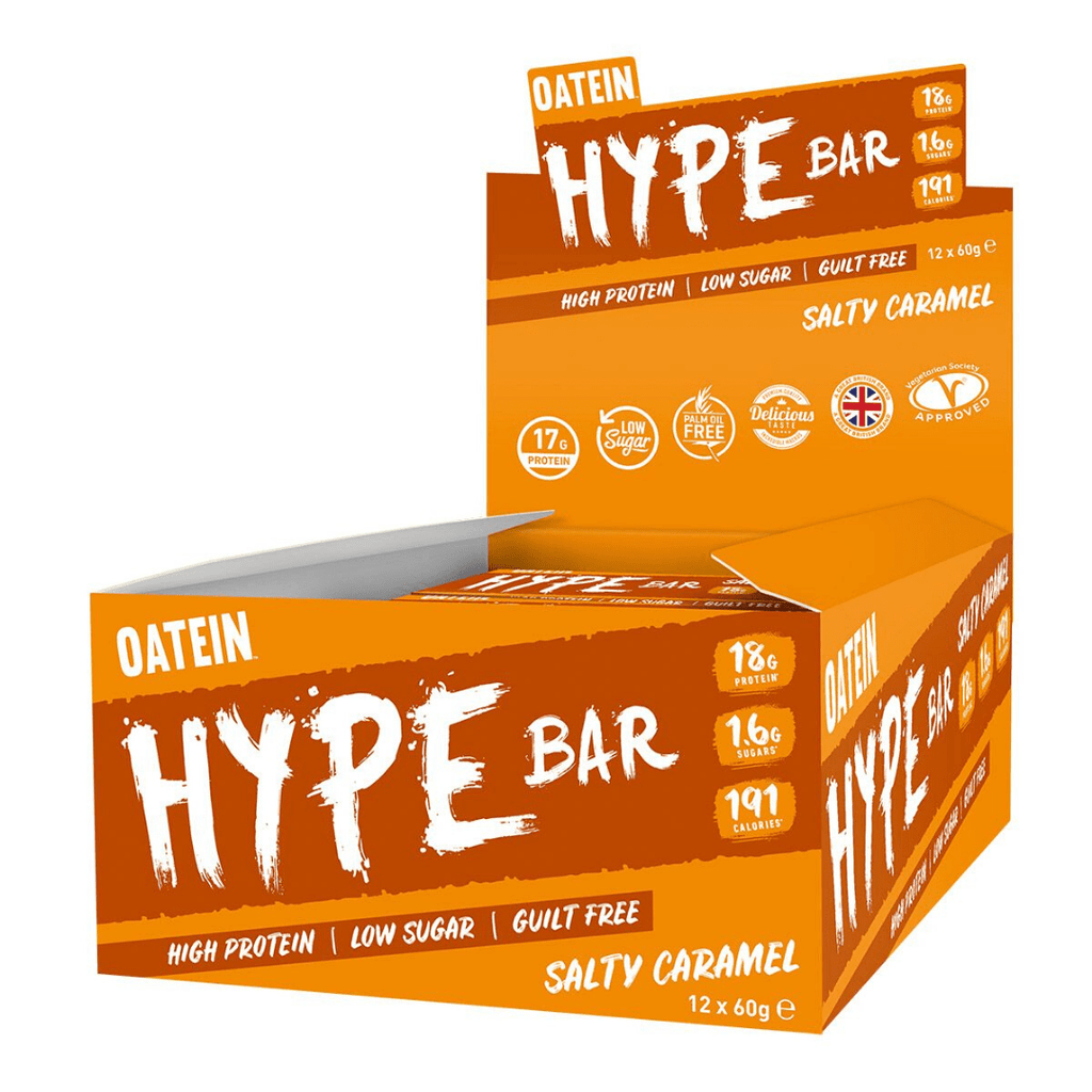 Oatein Protein Hype Bar Box (12 Bars), Protein Bars, Oatein, Protein Package Protein Package Pick and Mix Protein UK