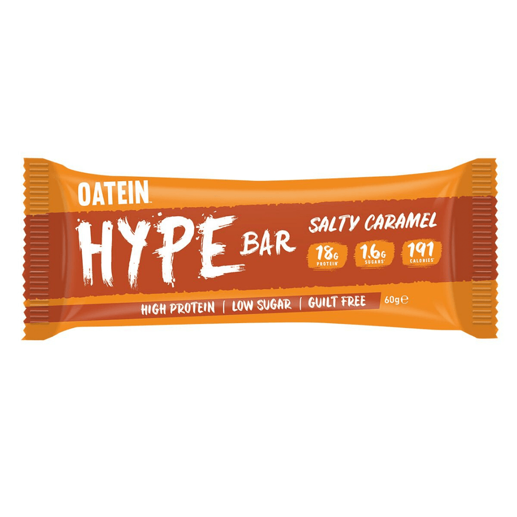 Oatein Protein Hype Bar Salty Caramel, Protein Bars, Oatein, Protein Package Protein Package Pick and Mix Protein UK