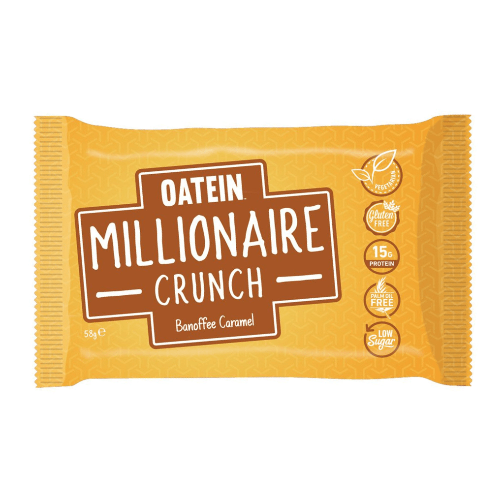 Oatein Protein Millionaire Crunch Banoffee Caramel, Protein Bar, Oatein, Protein Package Protein Package Pick and Mix Protein UK
