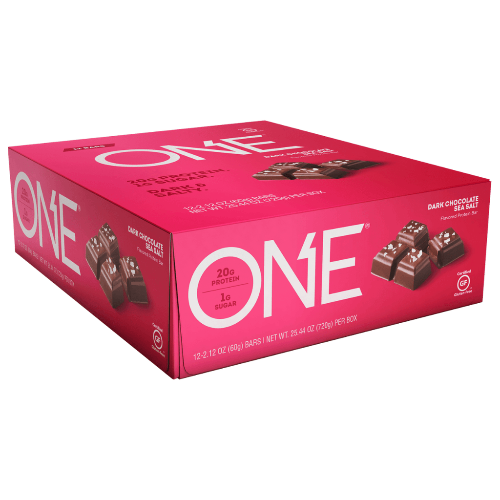 Oh yeah! ONE Protein Bar Dark Chocolate Sea Salt, Protein Bar, ONE, Protein Package Protein Package Pick and Mix Protein UK