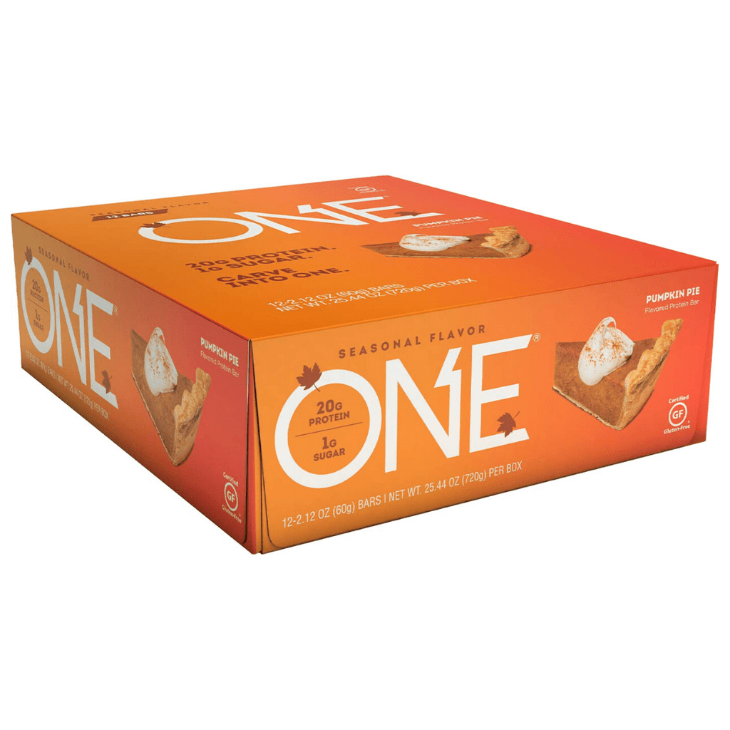 Oh yeah! ONE Protein Bar Pumpkin Pie, Protein Bars, ONE, Protein Package Protein Package Pick and Mix Protein UK