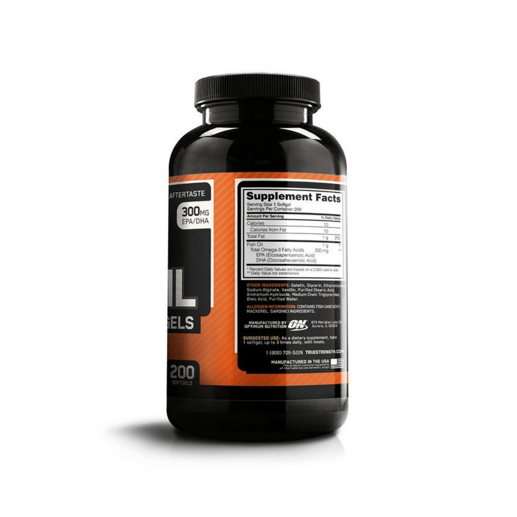 Optimum Nutrition Fish Oil Softgels, Supplements, Optimum Nutrition, Protein Package Protein Package Pick and Mix Protein UK