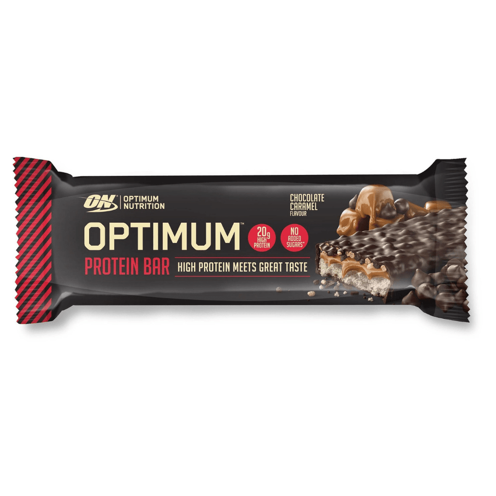 Optimum Nutrition Protein Bar Chocolate Caramel, Protein Bars, Optimum Nutrition, Protein Package, Pick and Mix Protein UK