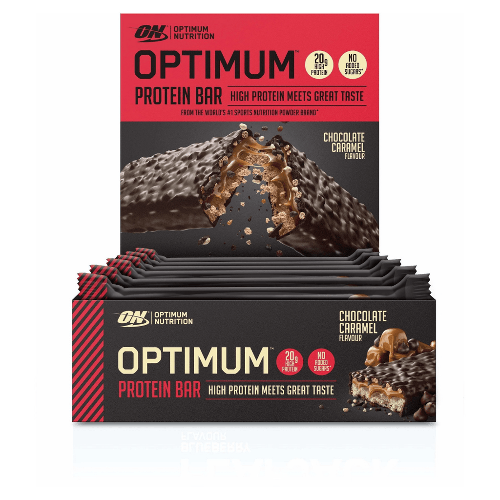Optimum Nutrition Protein Bar Chocolate Caramel, Protein Bars, Optimum Nutrition, Protein Package Protein Package Pick and Mix Protein UK