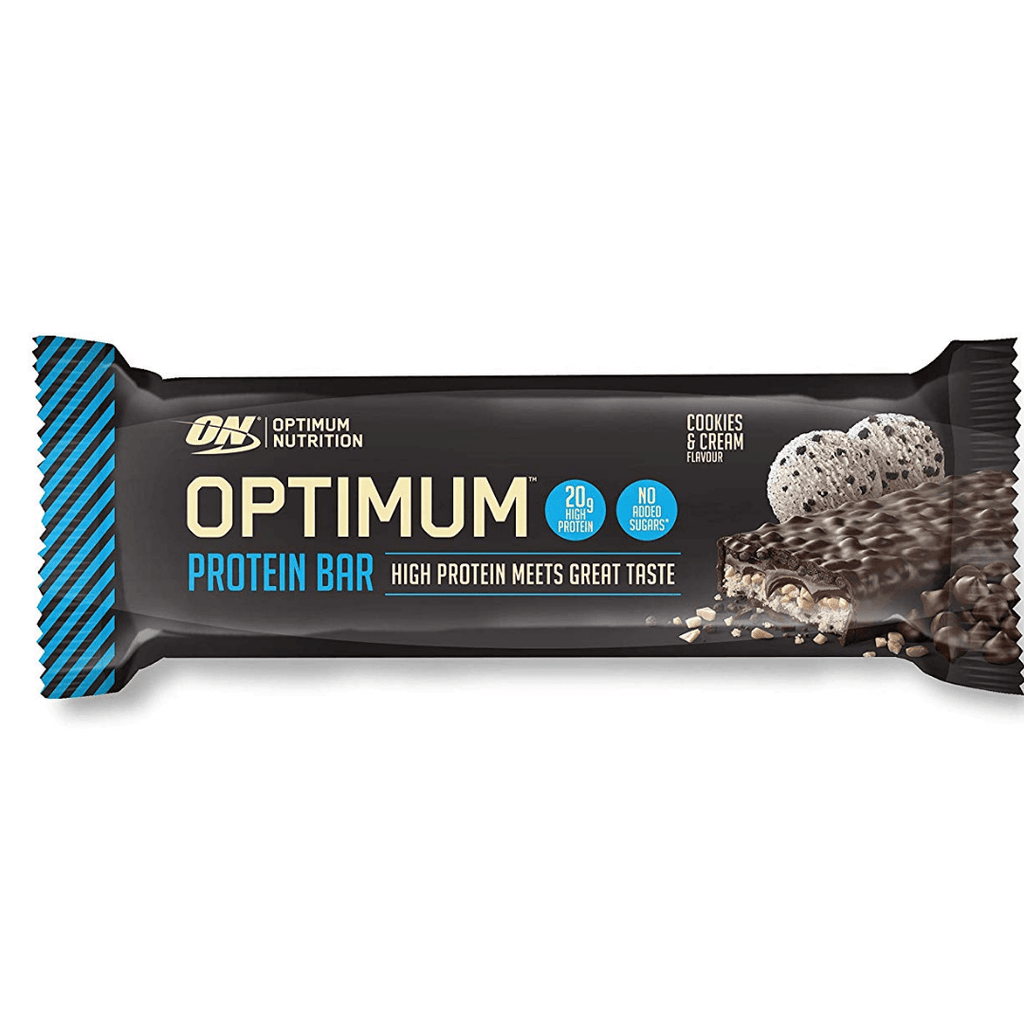 Optimum Nutrition Protein Bar Cookies & Cream, Protein Bar, Optimum Nutrition, Protein Package Protein Package Pick and Mix Protein UK
