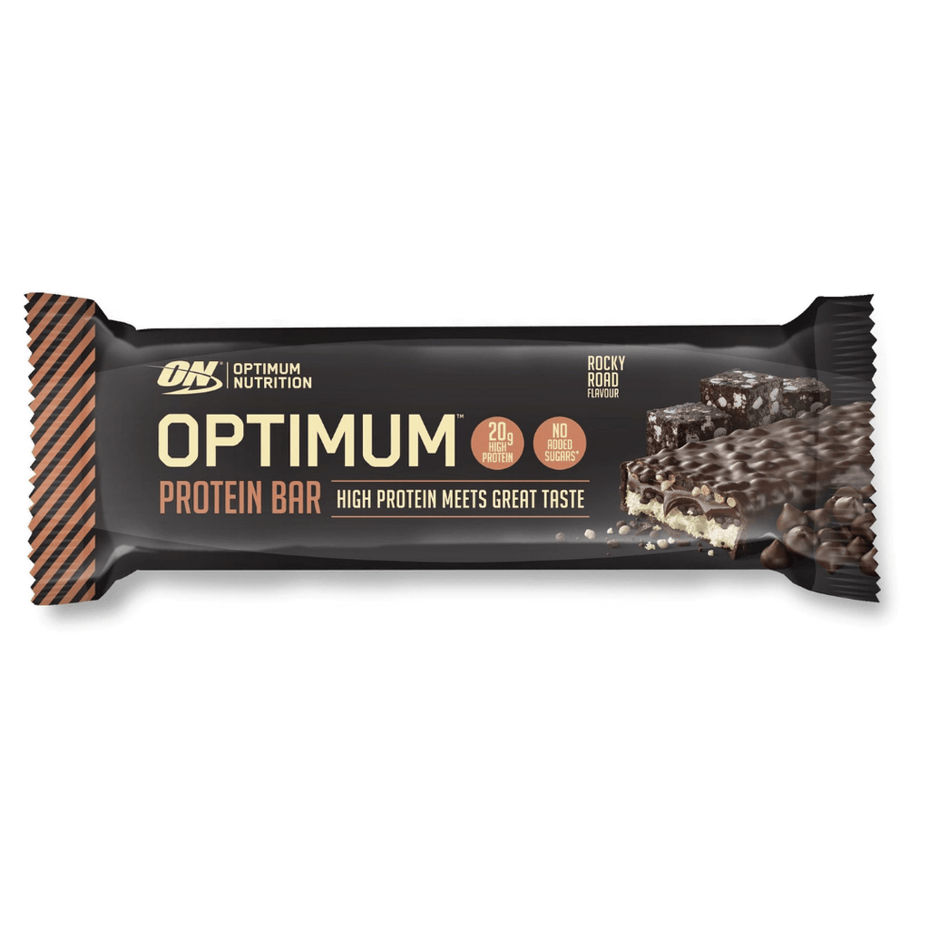 Optimum Nutrition Protein Bar Rocky Road, Protein Bars, Optimum Nutrition, Protein Package, Pick and Mix Protein UK