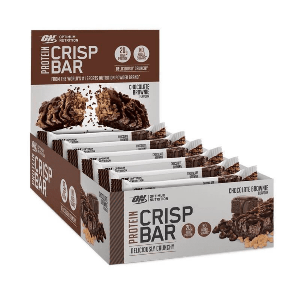 Optimum Nutrition Protein Crisp Bar Box (10 Bars), Protein Bars, Optimum Nutrition, Protein Package Protein Package Pick and Mix Protein UK