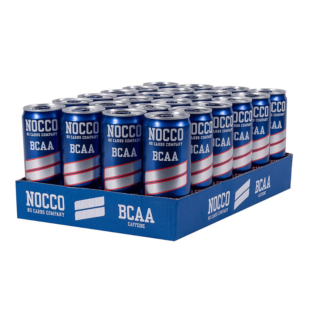NOCCO BCAA Energy Drinks Box (24 Cans), BCAA, NOCCO, Protein Package Protein Package Pick and Mix Protein UK