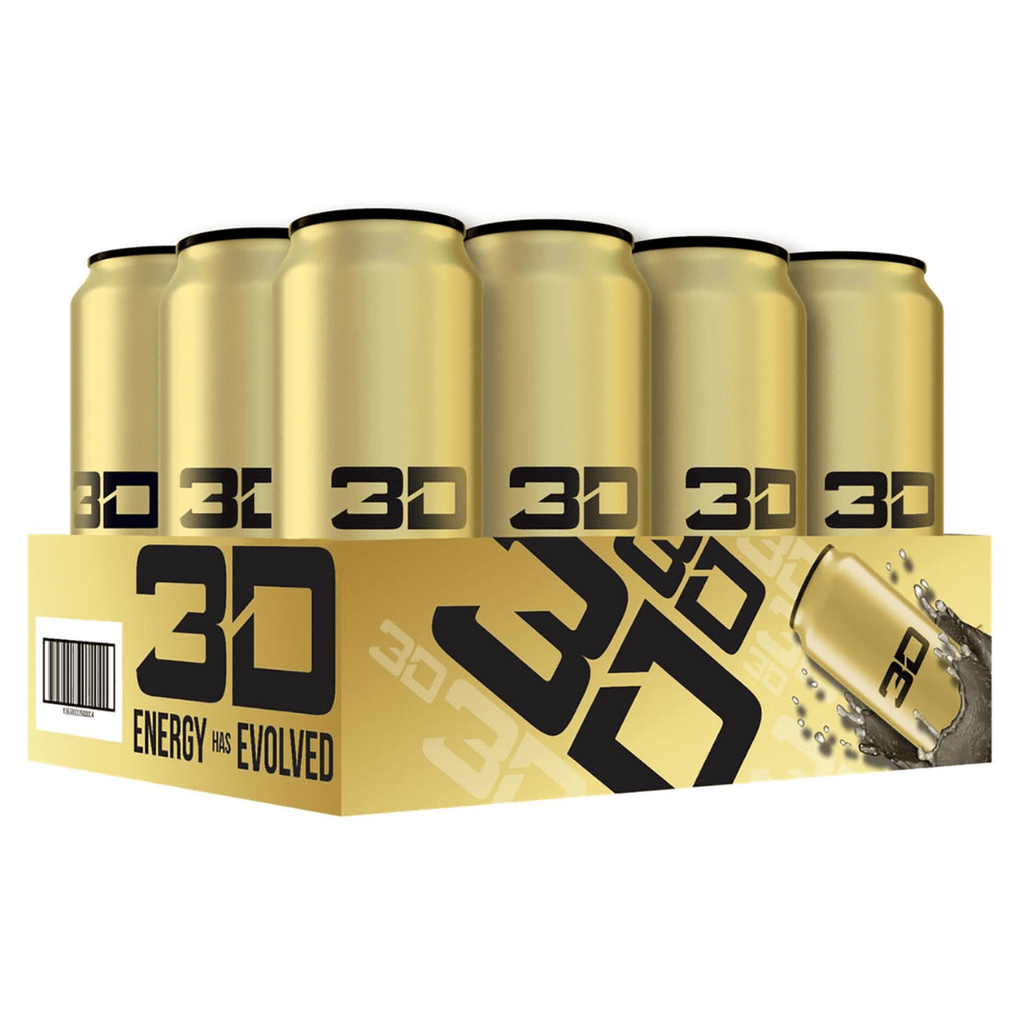 Christian Guzman's 3D Energy Drink Gold Pineapple Coconut