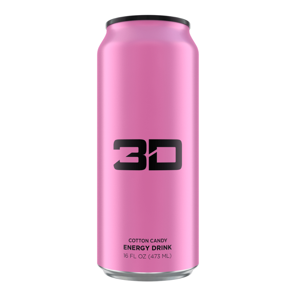 Christian Guzman's 3D Energy Drink Pink Cotton Candy