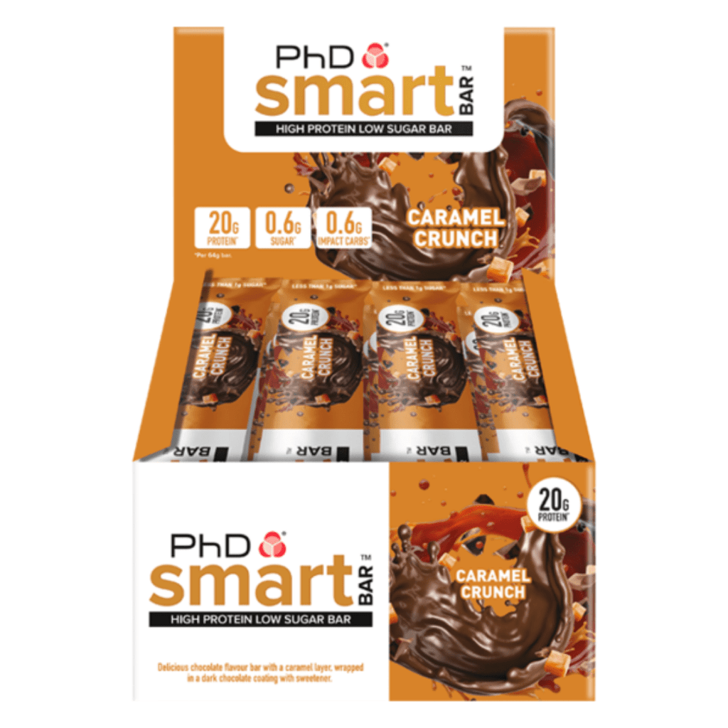 PhD Nutrition SMART Protein Bar Caramel Crunch, Protein Bars, PhD Nutrition, Protein Package Protein Package Pick and Mix Protein UK
