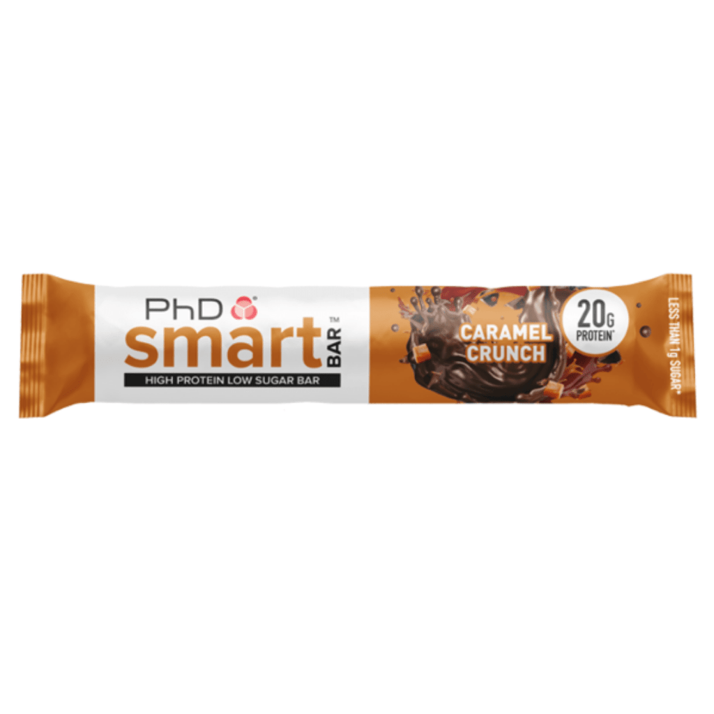 PhD Nutrition SMART Protein Bar Caramel Crunch, Protein Bars, PhD Nutrition, Protein Package, Pick and Mix Protein UK