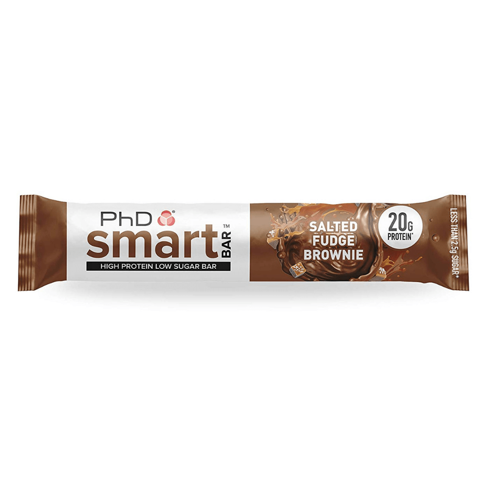PhD Nutrition SMART Protein Bar Salted Fudge Brownie, Protein Bars, PhD Nutrition, Protein Package Protein Package Pick and Mix Protein UK