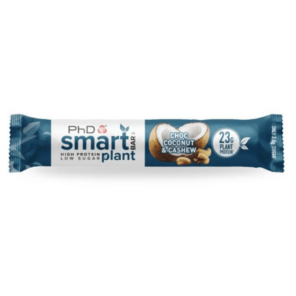 PhD Nutrition SMART Vegan Plant Protein Bar Chocolate Coconut Cashew - Protein Package