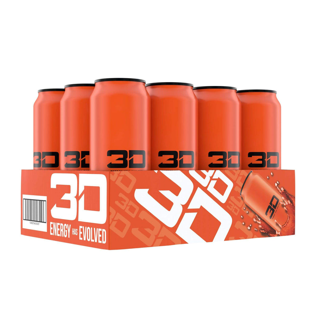 3D Energy Drink Orange, Energy Drinks, 3D Energy, Protein Package Protein Package Pick and Mix Protein UK