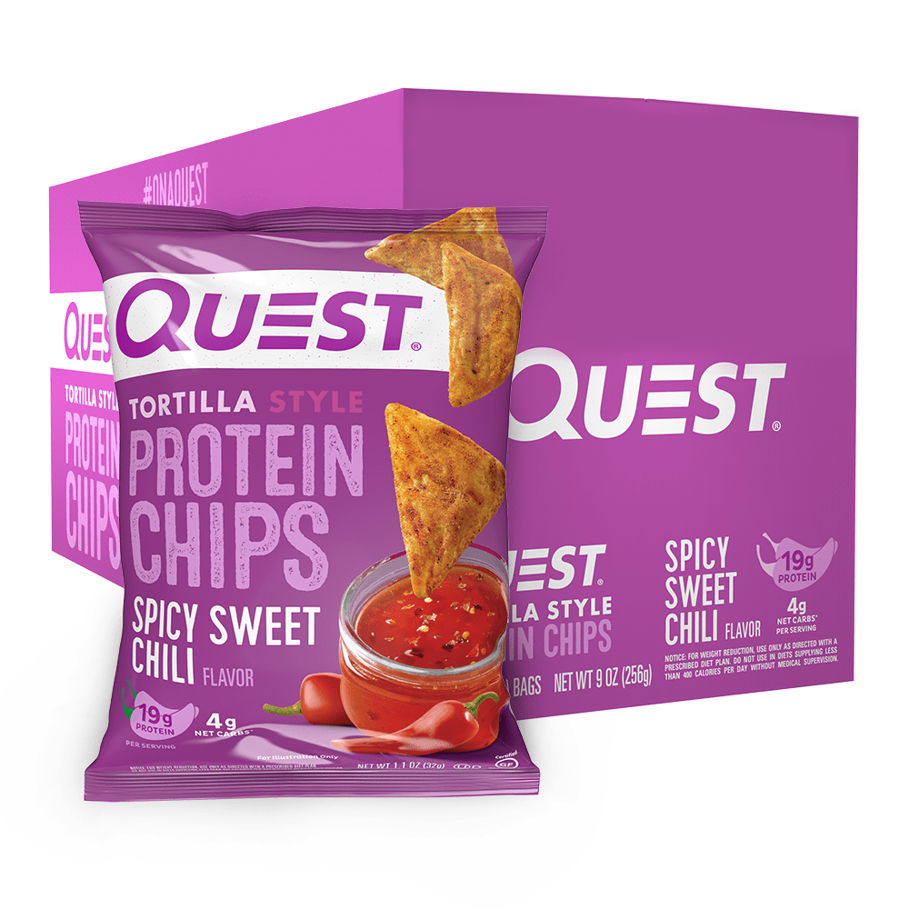 Quest Nutrition USA Protein Tortilla Chips Spicy Sweet Chili