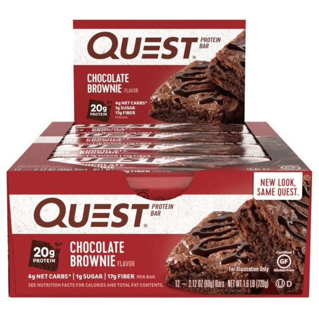 Quest Nutrition Protein Bar Chocolate Brownie, Protein Bars, Quest Nutrition, Protein Package, Pick and Mix Protein UK