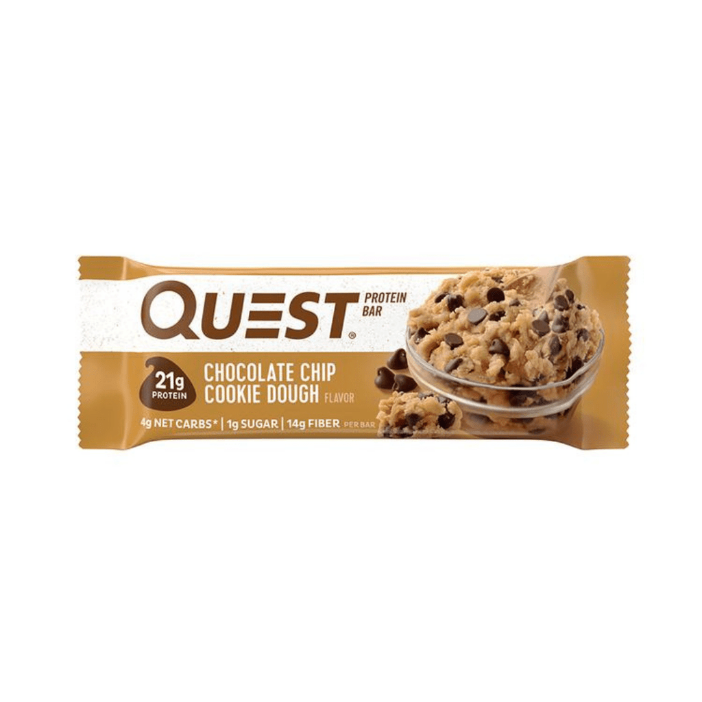 Quest Nutrition Protein Bar Chocolate Chip Cookie Dough, Protein Bar, Quest, Protein Package Protein Package Pick and Mix Protein UK
