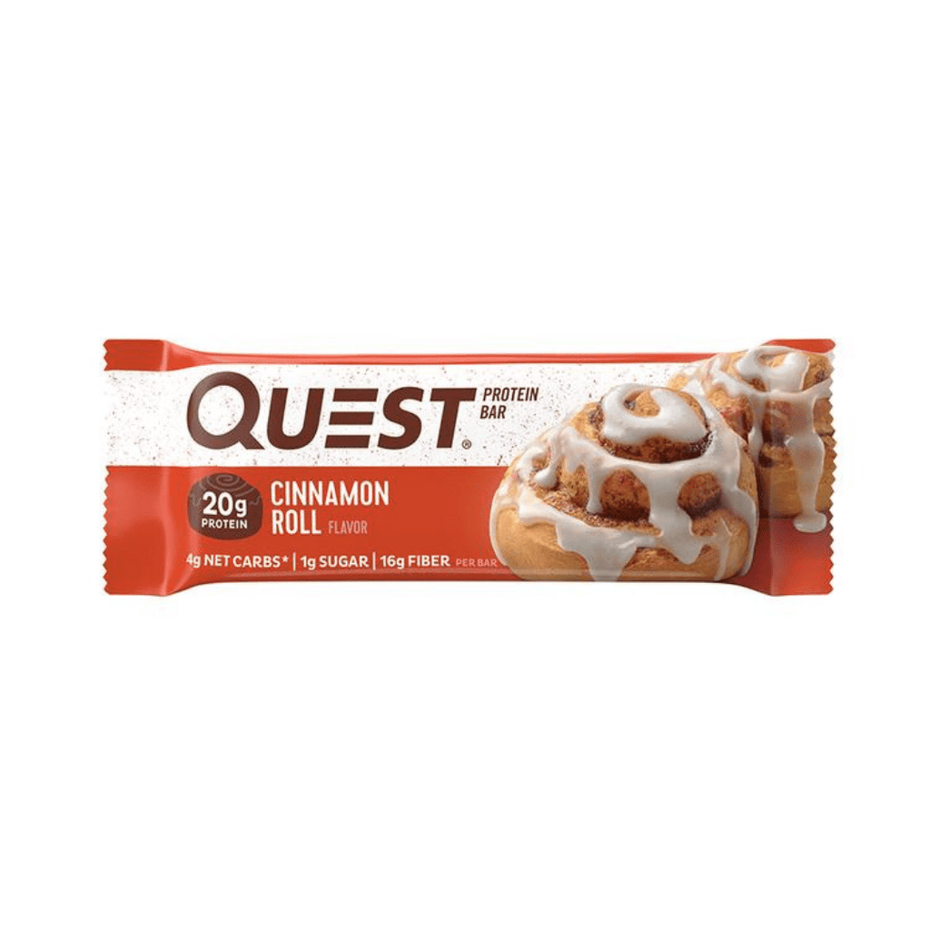 Quest Nutrition USA Protein Bar Cinnamon Roll, Protein Bars, Quest Nutrition, Protein Package, Pick and Mix Protein UK