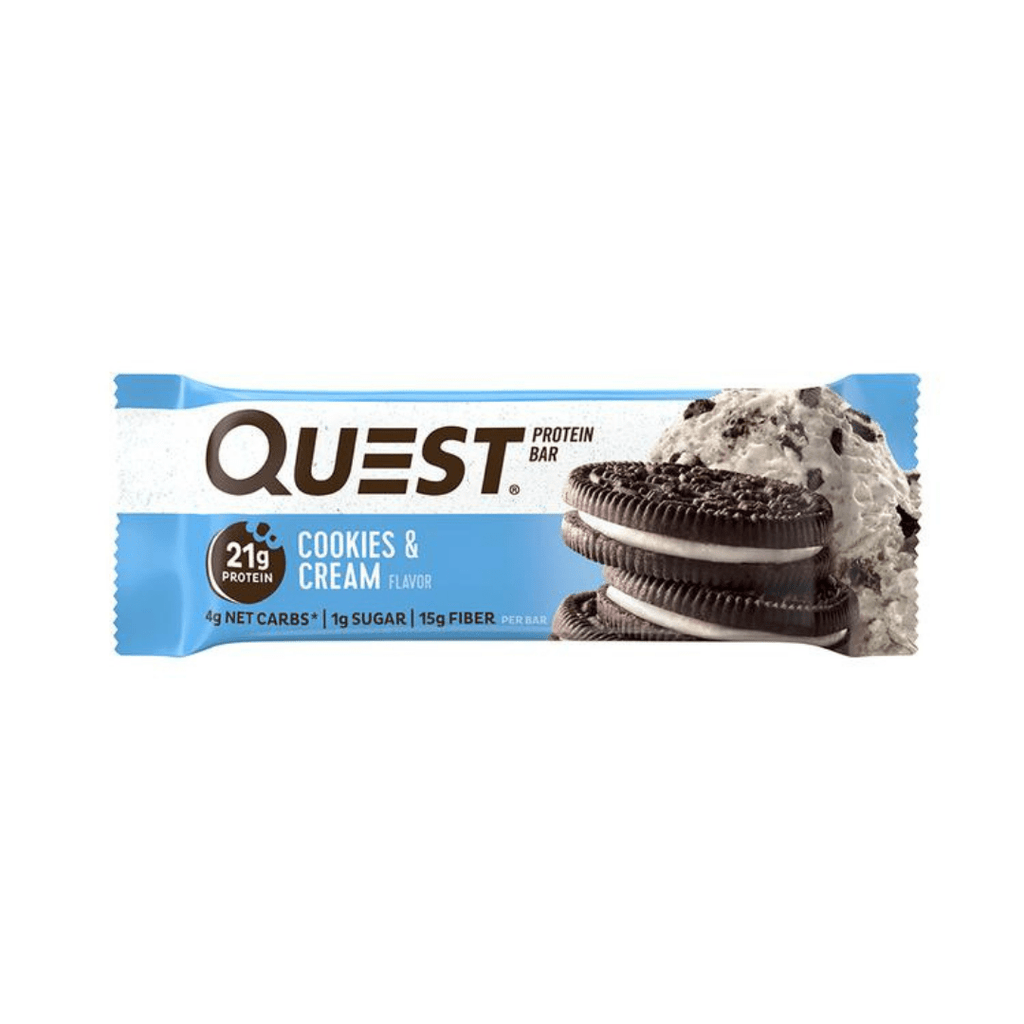 Quest Nutrition Protein Bar Cookies & Cream, Protein Bars, Quest Nutrition, Protein Package Protein Package Pick and Mix Protein UK