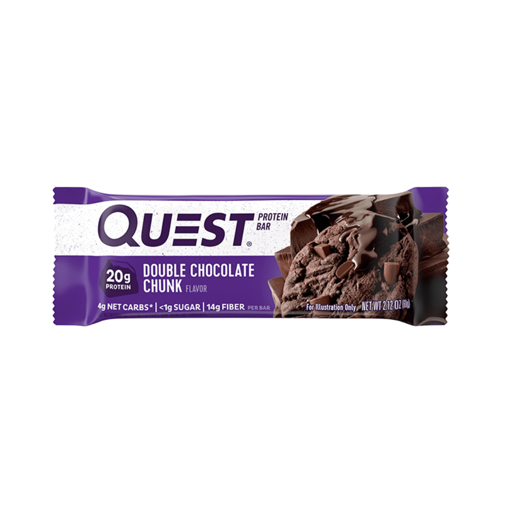 Quest Nutrition Protein Bar Double Chocolate Chunk