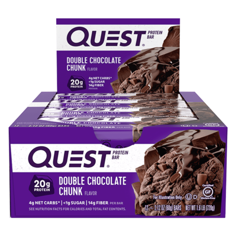 Quest Nutrition Protein Bar Box (12 Bars), Protein Bars, Quest Nutrition, Protein Package Protein Package Pick and Mix Protein UK