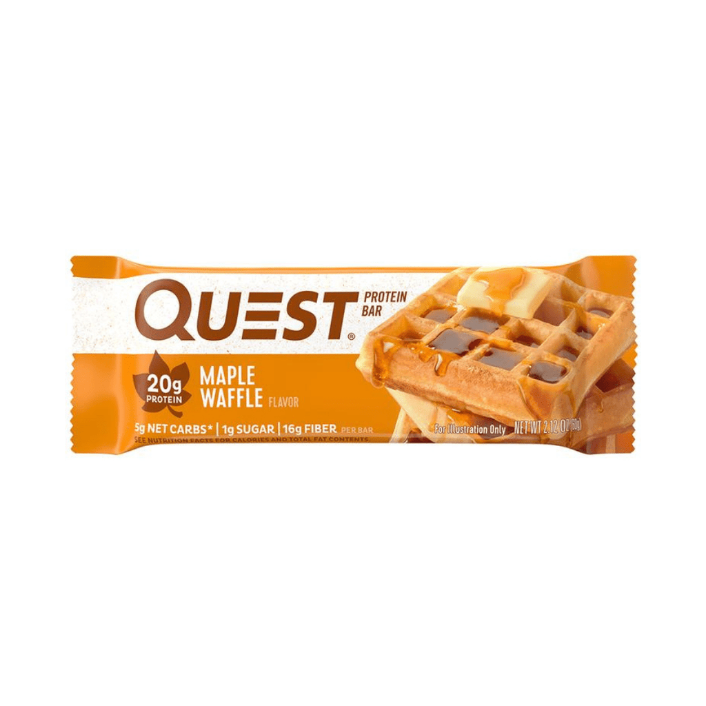Quest Nutrition USA Protein Bar Maple Waffle, Protein Bars, Quest Nutrition, Protein Package, Pick and Mix Protein UK