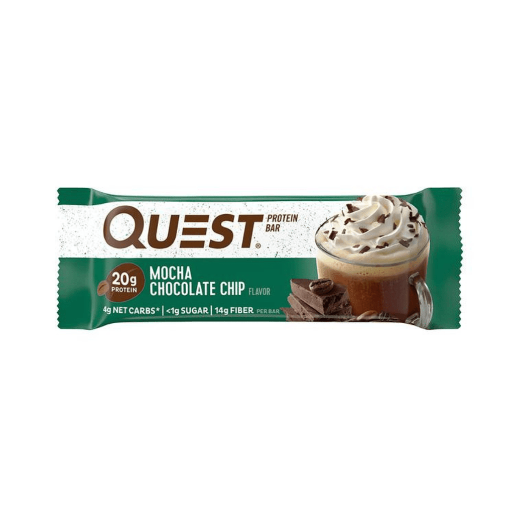 Quest Nutrition Protein Bar Mocha Chocolate Chip, Protein Bars, Quest Nutrition, Protein Package Protein Package Pick and Mix Protein UK