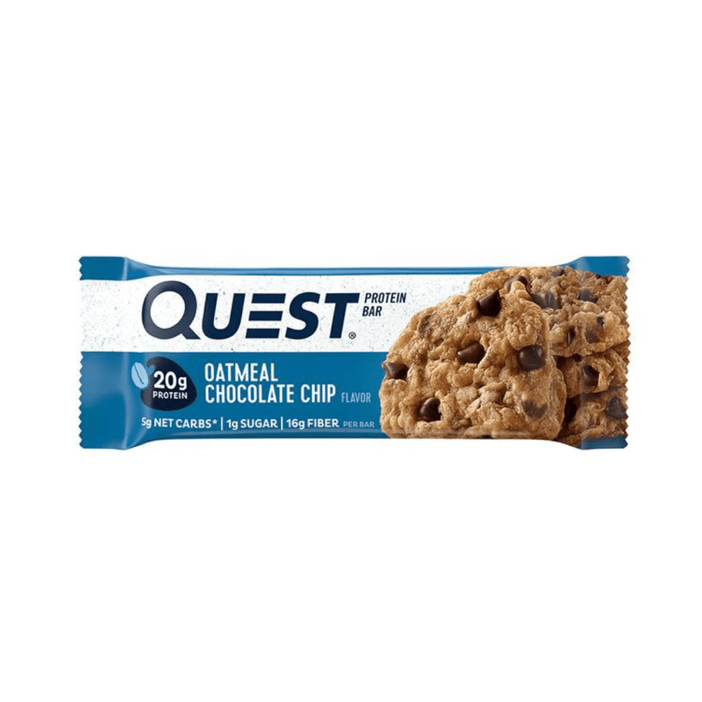 Quest Nutrition Protein Bar Oatmeal Chocolate Chip - Protein Package