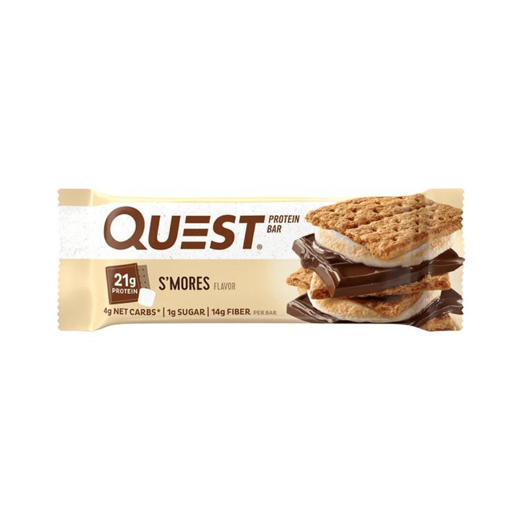 Quest Nutrition Protein Bar S'mores, Protein Bars, Quest Nutrition, Protein Package, Pick and Mix Protein UK