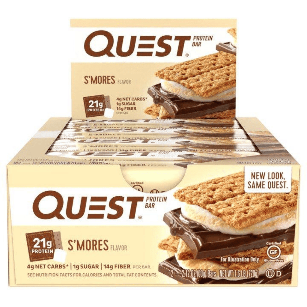 Quest Nutrition Protein Bar S'mores, Protein Bar, Quest, Protein Package Protein Package Pick and Mix Protein UK