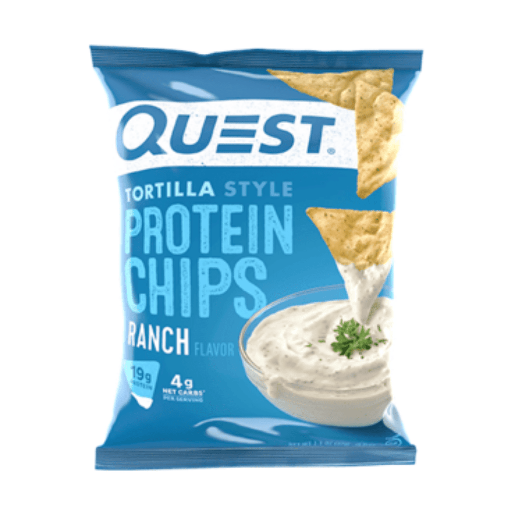 Quest Nutrition USA Protein Tortilla Chips Ranch, Protein Crisps, Quest Nutrition, Protein Package Protein Package Pick and Mix Protein UK