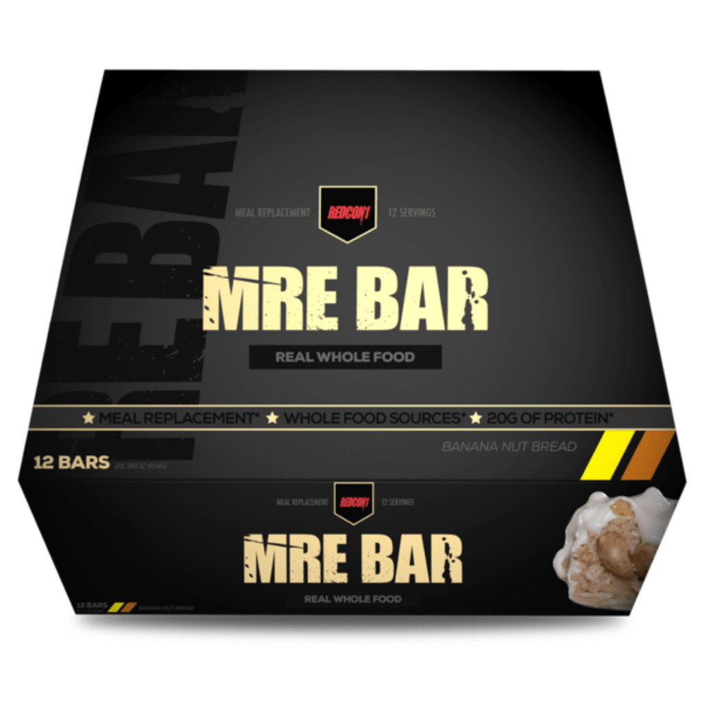 REDCON 1 MRE Protein Bar Banana Nut Bread - Protein Package