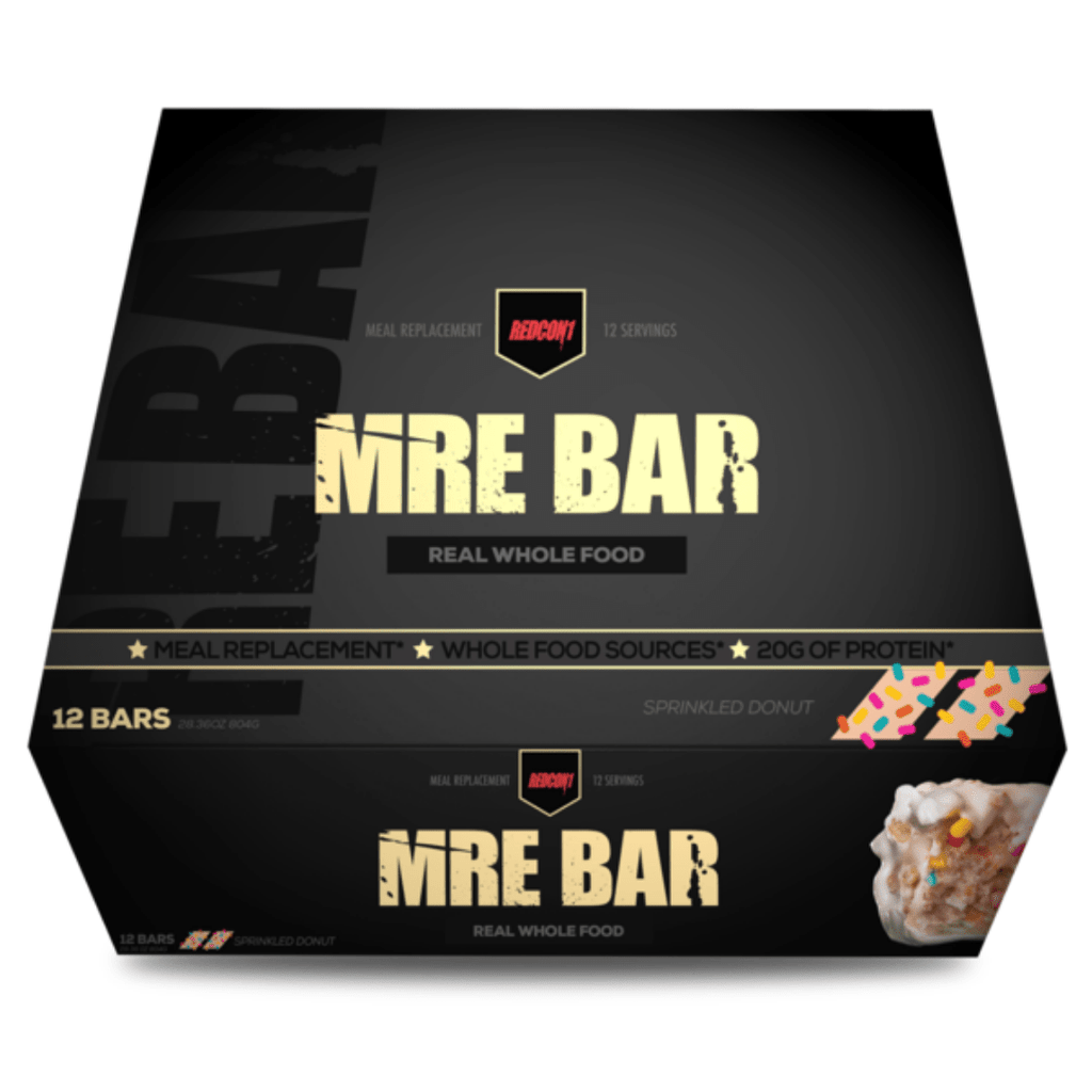 REDCON 1 MRE Protein Bar Sprinkled Donut - Protein Package