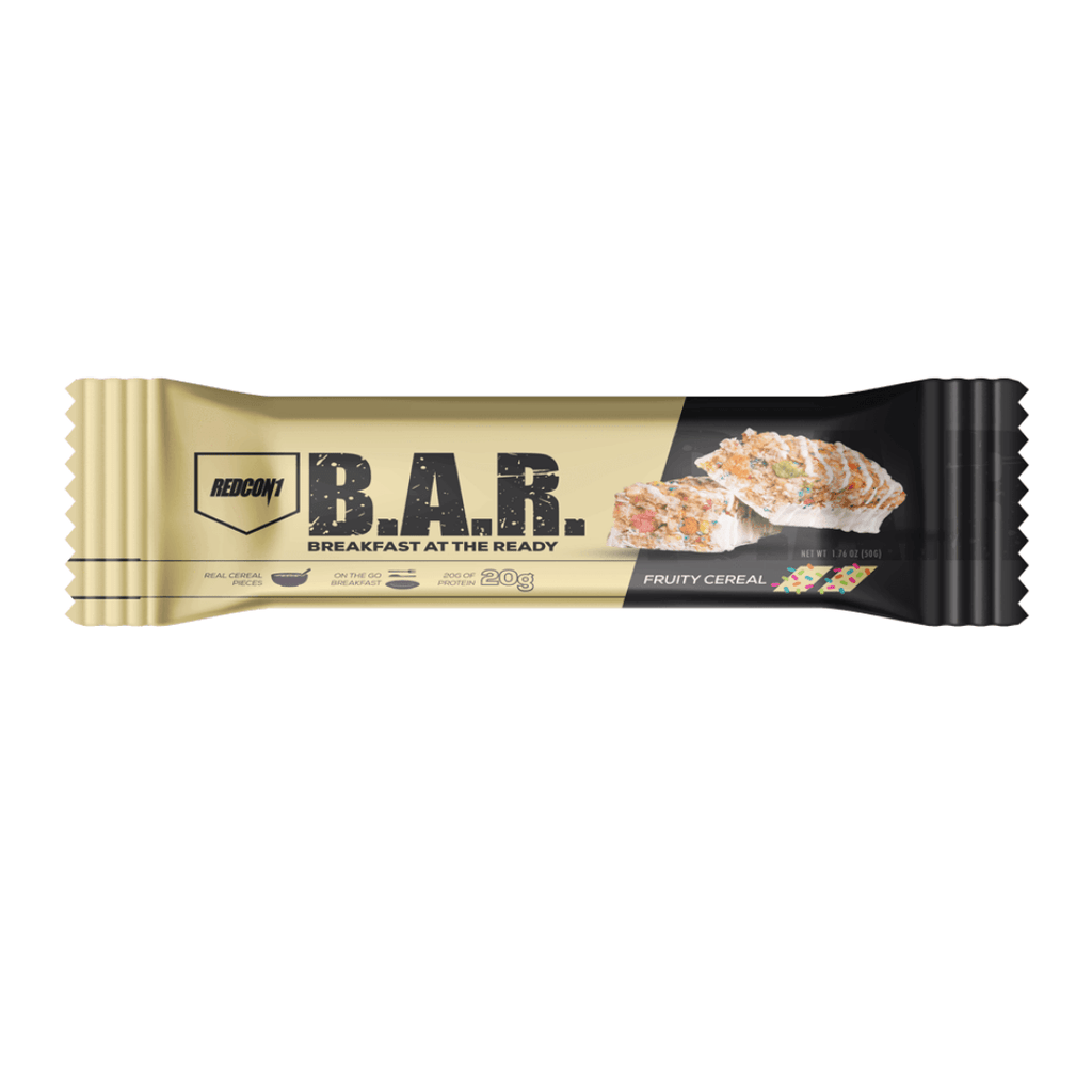 REDCON 1 B.A.R. Protein Bar Fruity Cereal - Protein Package