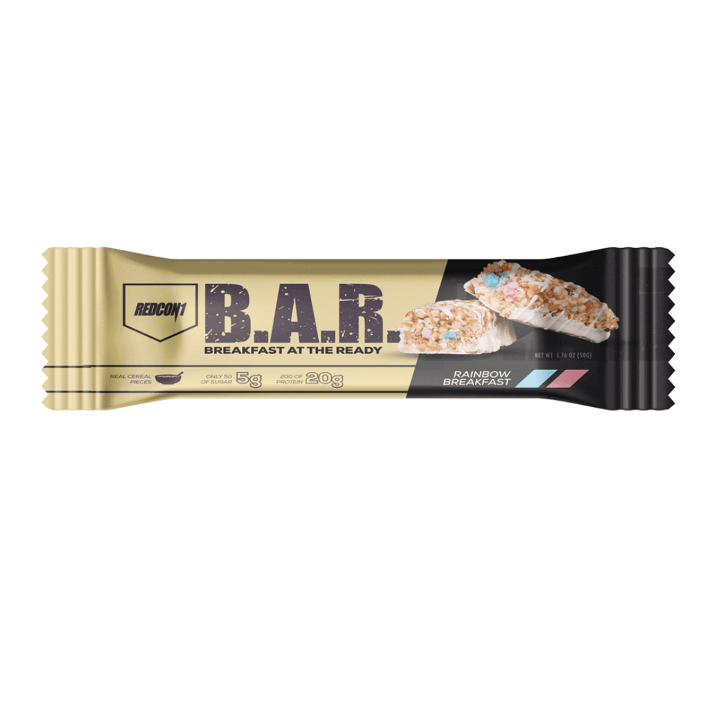 REDCON 1 B.A.R. Protein Bar Rainbow Breakfast, Protein Bars, REDCON 1, Protein Package Protein Package Pick and Mix Protein UK