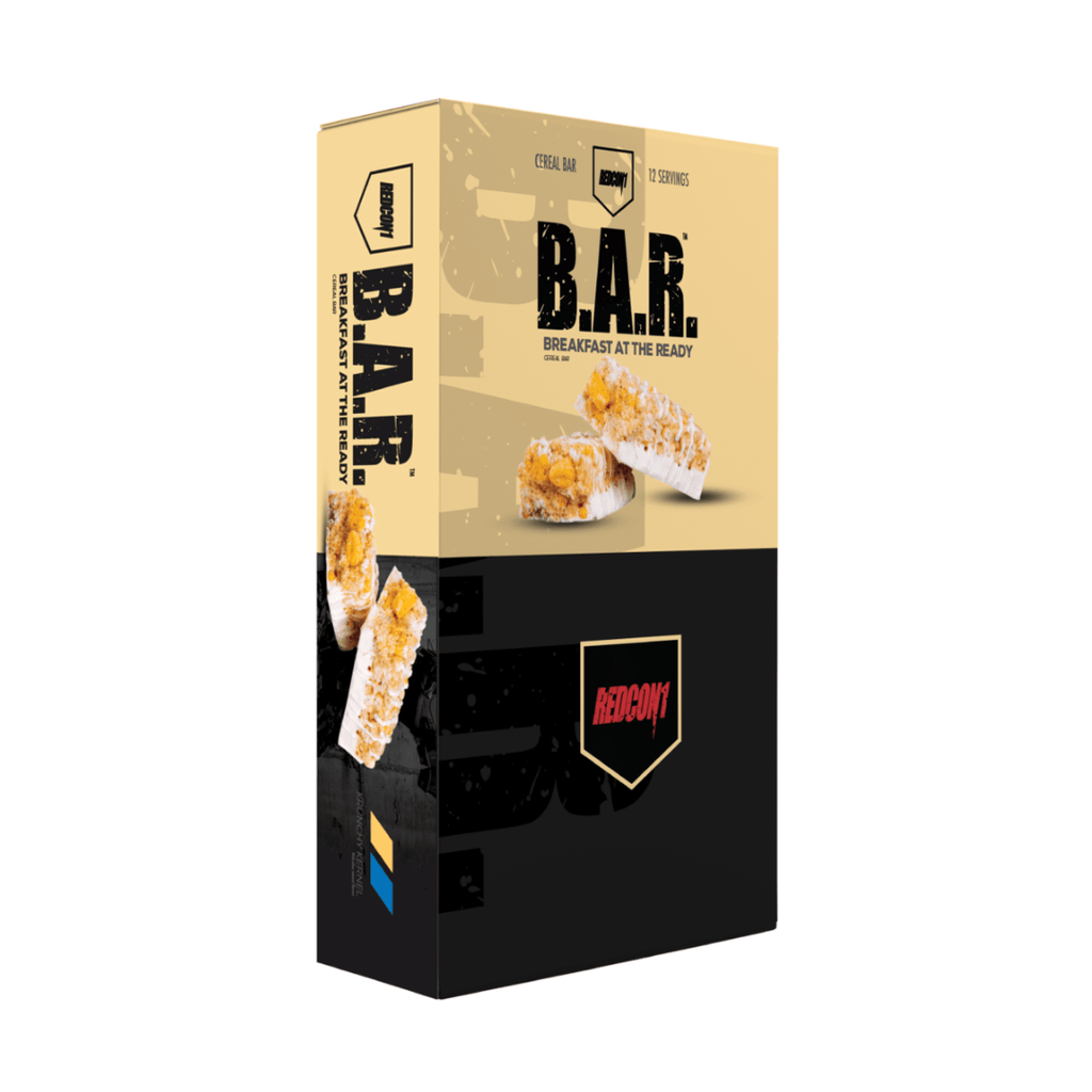 REDCON 1 B.A.R. Protein Bar Box (12 Bars), Protein Bars, REDCON 1, Protein Package Protein Package Pick and Mix Protein UK