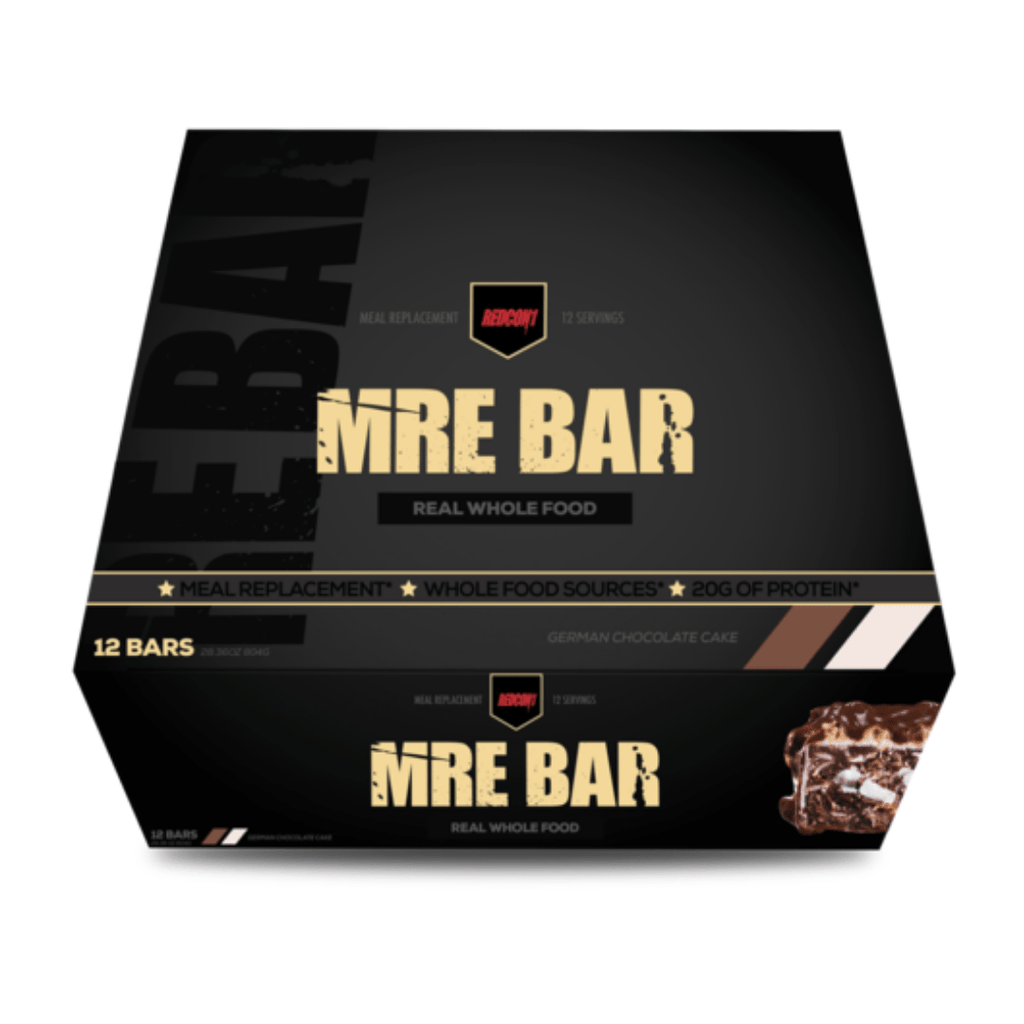 REDCON 1 MRE Protein Bar German Chocolate Cake - Protein Package