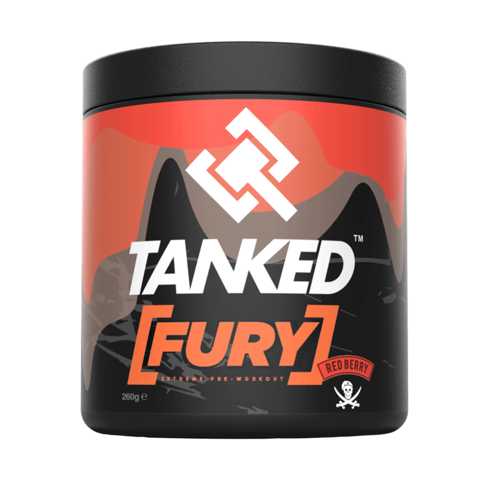 Tanked Fury Extreme Pre Workout, Pre Workout, Tanked, Protein Package Protein Package Pick and Mix Protein UK
